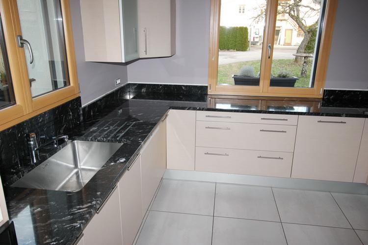 cuisine en granit titanium 09 12 16 pierre granit andr demange. Black Bedroom Furniture Sets. Home Design Ideas