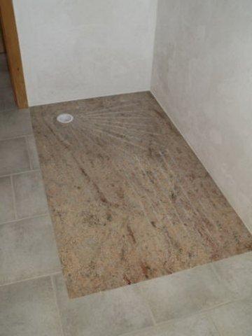 salles de bain et douches en granit pierre granit andr demange. Black Bedroom Furniture Sets. Home Design Ideas