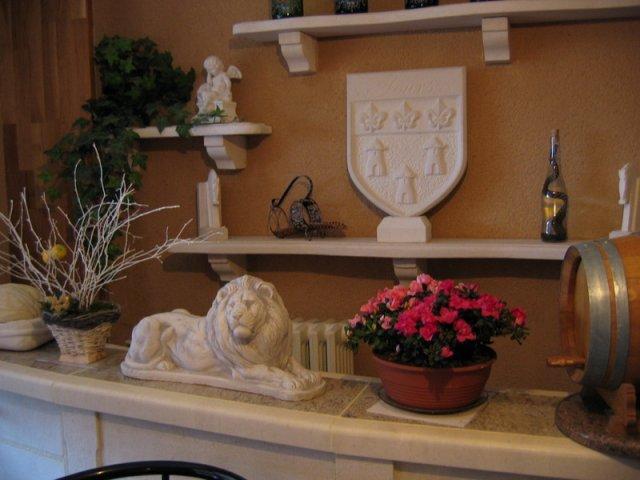 am nagement int rieur en pierre ou granit pierre granit andr demange. Black Bedroom Furniture Sets. Home Design Ideas