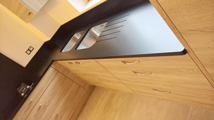plan de travail en granit noir type cuir 2016 10 15 pierre granit andr demange. Black Bedroom Furniture Sets. Home Design Ideas