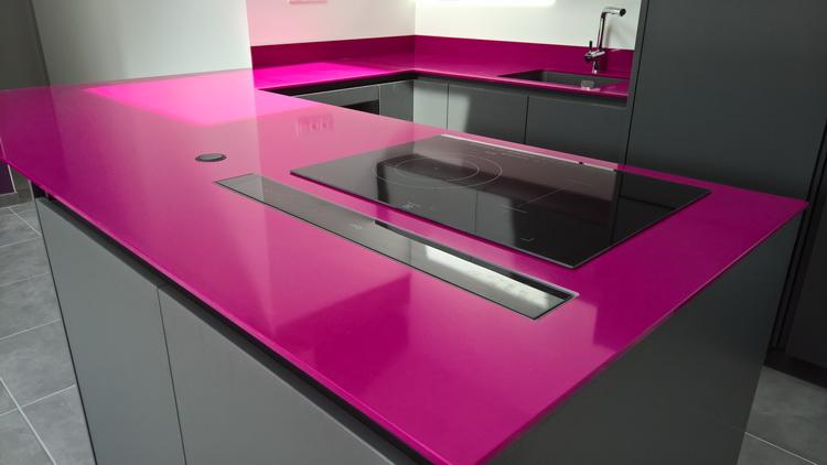 cuisine en r sine magenta 2016 06 pierre granit andr demange. Black Bedroom Furniture Sets. Home Design Ideas